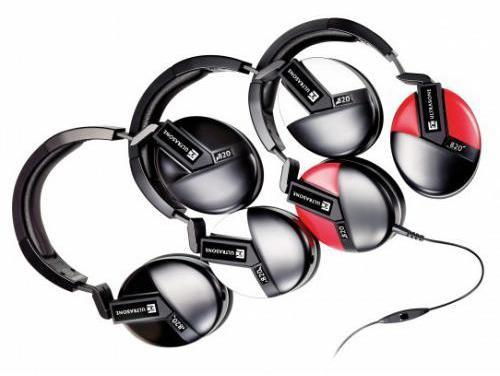 Ultrasone Performance 820 czarno-czerwone