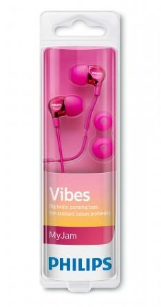 Philips SHE3700BL/00 różowe