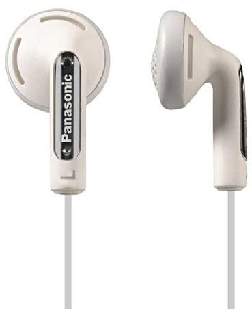 Panasonic RP HV 154 E-K słuchawki douszne (długo?ć kabla: 1,2 m, złocone zł?cza 3,5 mm , akustyka XBS), kolor czarny biały 5025232494200