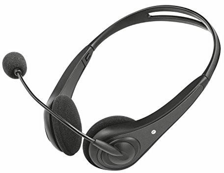Trust InSonic słuchawki z mikrofonem, czarny 21664