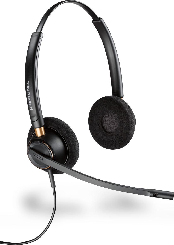 Plantronics ENCORE PRO HW510 Dual czarne
