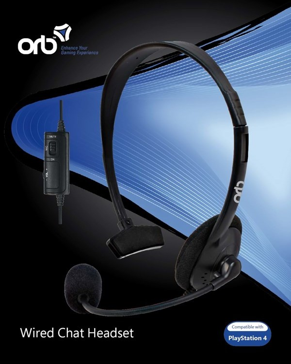 Sony PS4 Wired Chat