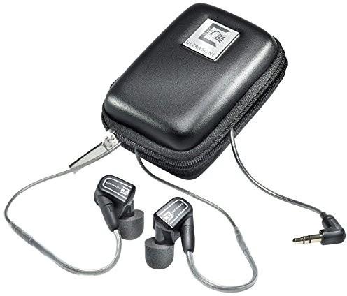 Ultrasone słuchawki do uszu czarny 18006
